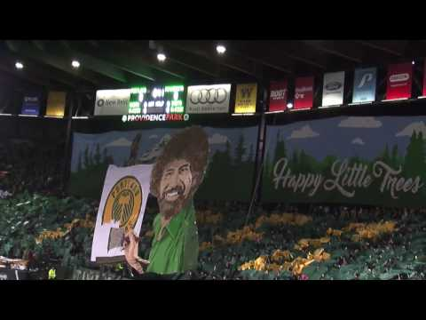 Timbers Army unveil tifo at 2017 MLS opener: 'Happy Little Trees'