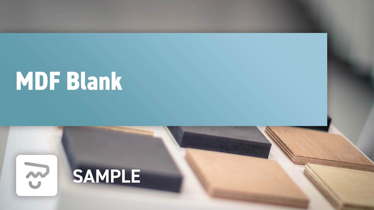 MDF Blank