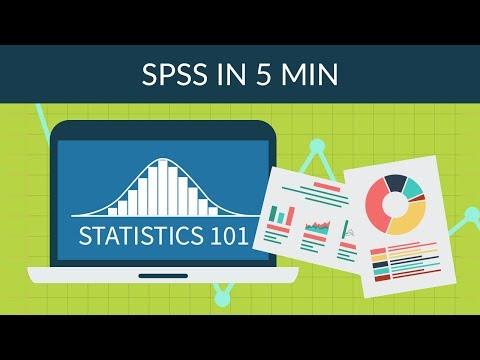 Statistics 101 - SPSS in 5 min - YouTube