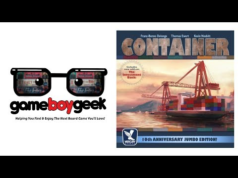 The Game Boy Geek Reviews Container Jumbo Edition