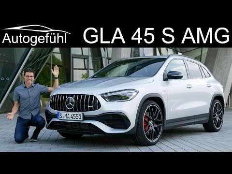all-new Mercedes GLA 45 S AMG FULL REVIEW 2021 - Autogefühl