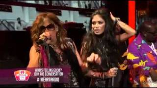 Steven Tyler & Nicole Scherzinger-(it) Feels So Good (Live at iHeartRadio 2011)