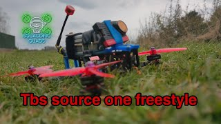 """Just a random freestyle fpv flight, tbs SourceOne 5"""" with DVR included analogue TBS unify crossfire"""