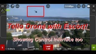 Flying the Tello Drone with fpv app