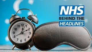 Talking therapy 'should be offered before pills' for people with insomnia | NHS Behind the Headlines