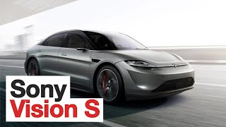 Sony Vision-S - The Most Important EV at CES 2020