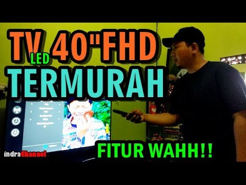 "TV LED FULL HD 40"" TERMURAH SE INDONESIA 