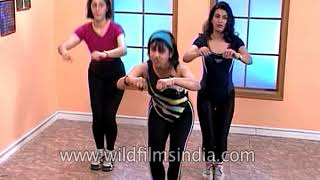 Aerobic Session: cardio vascular and conditioning exercises