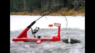 Подледная ловля щуки на жерлицу зимой