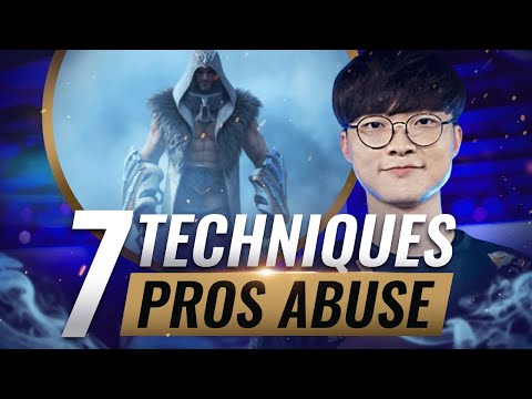7 TECHNIQUES Pros Use That YOU Probably DON'T - League of Legends Season 10