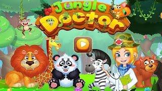 Jungle Doctor/Доктор Джунглей.Играем в Больницу.Лечим Животных.Развивающий мультик игра