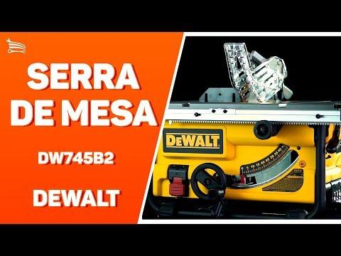 Serra de Mesa 10 Pol. 254mm 2000W  com Disco - Video