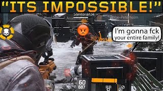 Salty Guy Gonna FCK My Family! SOLO DZ PVP #87 (The Division 1.8.3)