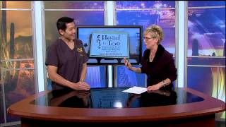 Dr. Shih on KOLD News 13 | Advanced Foot Pain Treatment