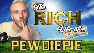PEWDIEPIE - The RICH Life - Net Worth 2017