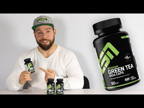 ESN Green Tea Giga Caps im Review