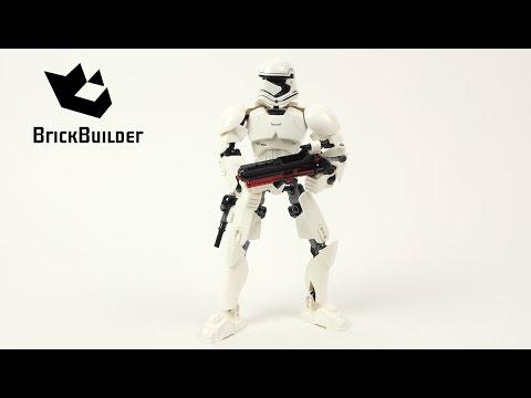 Vidéo LEGO Star Wars 75114 : Stormtrooper du Premier Ordre
