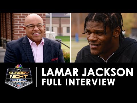 A Revealing Interview With Lamar Jackson