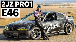 From Crew Member to Pro Driver: Dylan Hughes' 900hp 2JZ Powered E46!