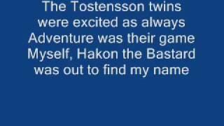 Turisas To Holmgard and beyond + lyrics
