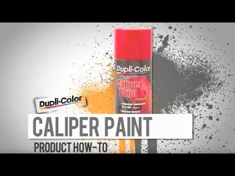 Caliper Paint How-To from Dupli-Color