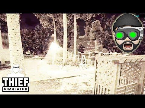 NIGHT VISION GOGGLES!!   Thief Simulator #19