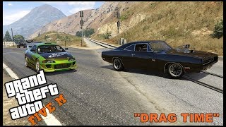 GTA 5 ROLEPLAY -  FAST AND FURIOUS CHARGER VS ECLIPSE - EP. 316 - CIV