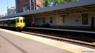 preview picture of video 'London Overground And Southern Trains At West Croydon | 2/5/2011'