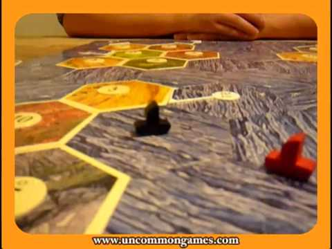 Settlers of Catan - Seafarers Overview