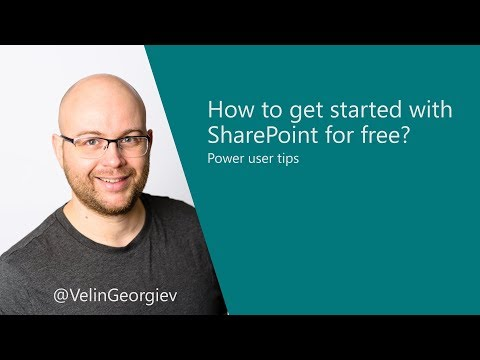 How to get started with SharePoint for free