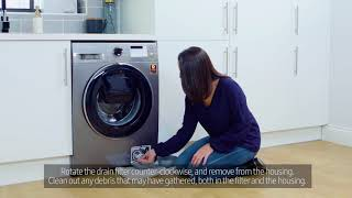 How To Clean Your Washing Machine Filter – Samsung