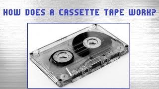 How do cassette tapes work? | Analog audio cassette