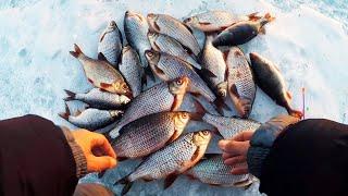 Фото мужчины на зимней рыбалке