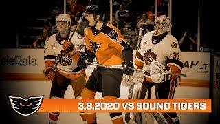 Sound Tigers vs. Phantoms | Mar. 8, 2020