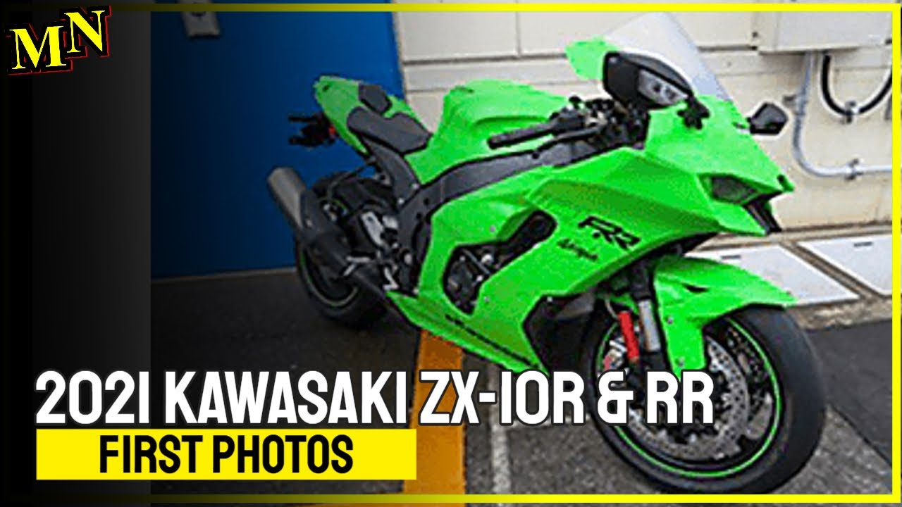 New Kawasaki ZX-10R for 2021 - first pictures revealed