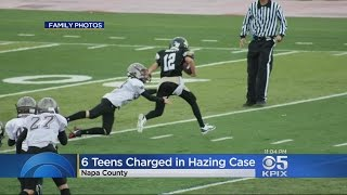 6 Juveniles Charged in Alleged Hazing at Napa High School