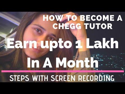 How I Earn From Chegg Tutor - Make Money Online || Earn Online|| Tutoring/Teaching