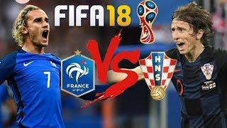 Fifa 18: Τελικός μουντιάλ Γαλλία - Κροατία