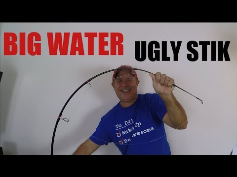 Big Water  7 Foot Medium Heavy UGLY STIK Review