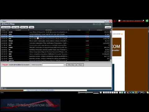 My Day Trading Tool Part 1