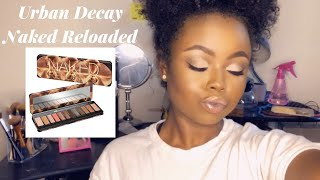 URBAN DECAY NAKED RELOADED | WOC MAKEUP TUTORIAL