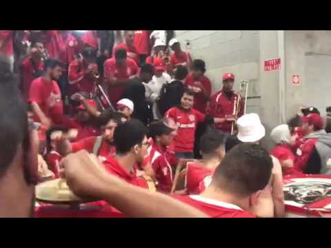 """Guarda Popular - Túnel  Pós-Jogo"" Barra: Guarda Popular • Club: Internacional"