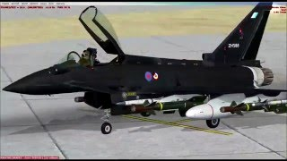 FSX SE] FIRST LOOK: EF2000 Eurofighter- By Dino Cattaneo