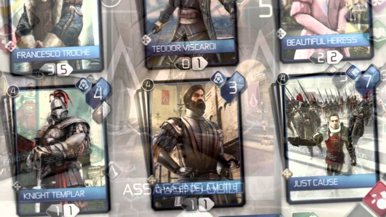 Assassin's Creed Recollection Brings Card-Based Strategy Assassination To The iPad