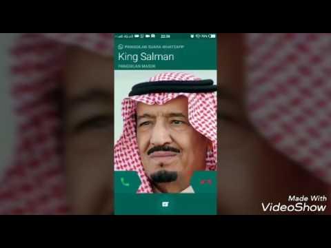 Lucu Calling Whatsapp Raja Salman