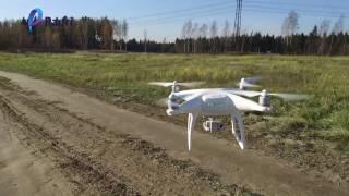 Руководство и инструкция по подготовке и запуску квадрокоптера дрона DJI Phantom 4 от Pauri