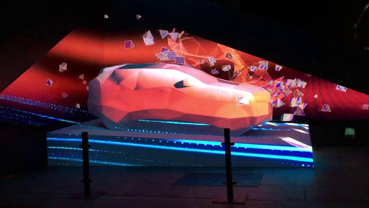 Jaguar Is Lighting Up Its First SUV At Vivid Sydney