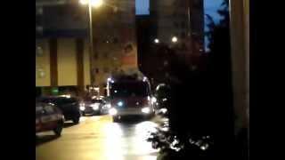 preview picture of video '301[Z]53 alarmowo przez Plac Żołnierza Polskiego Szczecin (obok kaskady)'