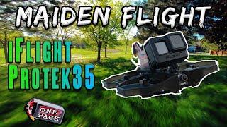 Maiden Flight (iFlight Protek35) Stock Rates - Fulls size GoPro Hero6