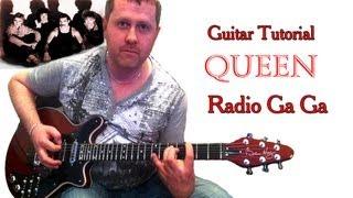Radio Ga Ga - Queen - Acoustic Guitar Tutorial